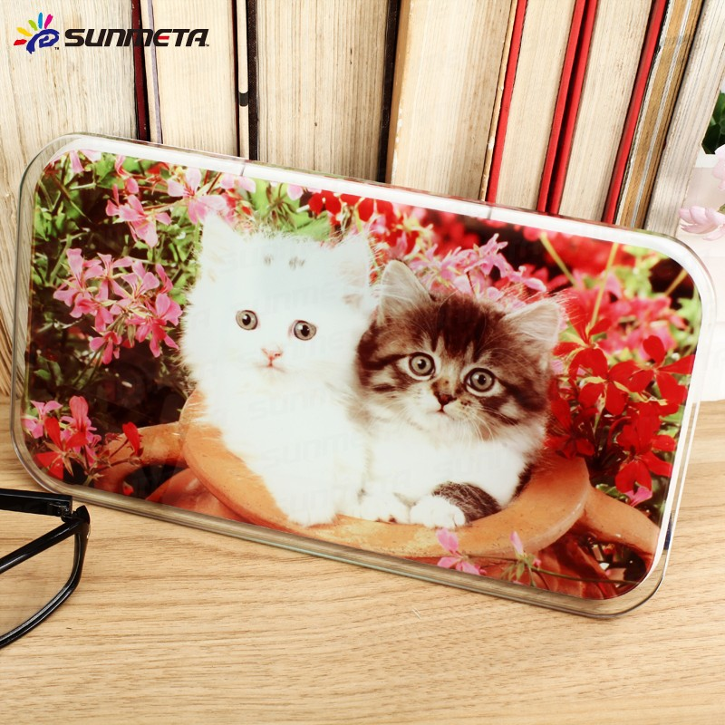 FREESUB Sublimation Glass Photo Frame Heat Press Transfer