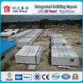 Casas pré-fabricadas de China, casas portáteis do recipiente para o escritório provisório e acomodação