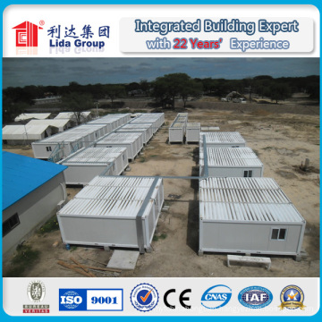 China Prefabricated Homes, Portable Container Homes for Temporary Office and Accommodation