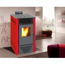 Indoor Using Auto-Ignite Pellet Stove with Remote Control Nb-PS