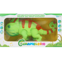 Gesture Sensing Chameleon Animal Toy