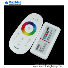 DC12V-24V 2.4G RF Wireless Touching LED RGB Remote Controller