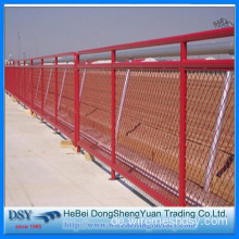 Powder Coated Expanded Mesh Blendschutzzaun