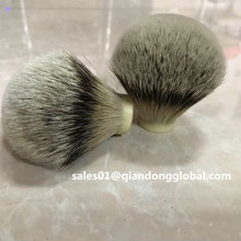 Bonne épine dorsale Silvertip Badger Hair Shave Brush Knot