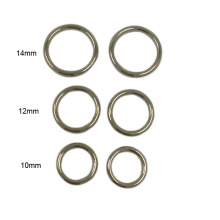 Cheap Wholesale Eco-Friendly Metal Bra Ring and Slider