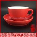Tasse à thé en vrac et soucoupe / nescafe tasse et soucoupe
