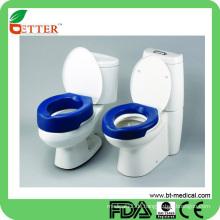 Einfach zu bedienen und bequemer und gepolsterter WC-Sitz