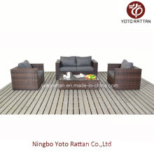 Wicker Loveseat with Teatable for Outdoor (1205)