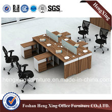 Factory Price L Shape Workstation Office Partition (HX-CRV005)