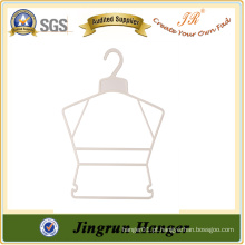 Alibaba Express Suit Hanger para crianças White Plastic Children Hangers