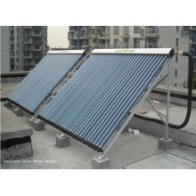 Dividir el agua caliente solar tubular con el tubo de calor (CALENTADOR SOLAR del AGUA, ISO9001, KEYMARK SOLAR, CE, SRCC, EN12975)