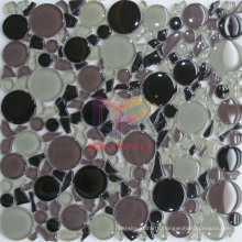 Mixed Color Tempering Glass Mosaic (CFC314)