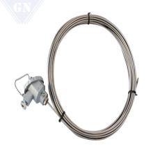Armored Thermocouple With Compensation Wire