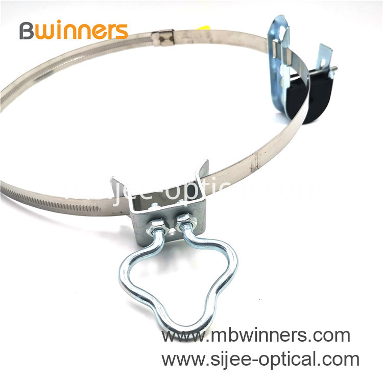 Hose Clamp With Butterfly Key
