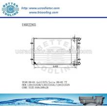 Radiador de aluminio para VOLKSWAGEN Golf / GTI / JETTA 00-02 1J0121253R / 1J0121253L / 1J0121253N