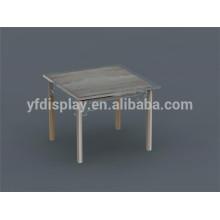 Clair acrylique table basse acrylique table à thé table de bout clair acrylique meubles
