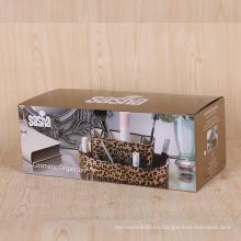 Caja de papel corrugado a todo color de impresión de embalaje de venta caliente