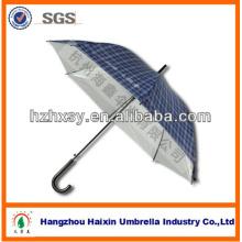 23'' * 8 k Auto offene helle blaue gerade Regenschirm