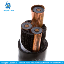 Medium voltage XLPE-insulated power cable power cord Single Core Cables to BS 6622/BS 7835 Three Core Cables to BS 6622/BS 7835