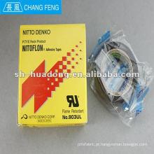 Fita adesiva de NITTO DENKO flama resistente película PTFE