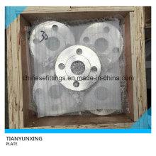 Placa de cara plana DIN2545 Pn40 Brida de acero inoxidable