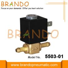 Household Appliance Brass Quick Plug Gas Solenoid Valve
