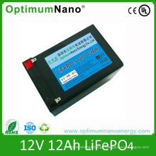 12V 12ah LiFePO4 Battery Electric Scooter Battery Rechargeable Battery