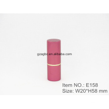 Simple&Pure Aluminum Cylindrical Lipstick Tube Container E158, cup size12.1/12.7,Custom color