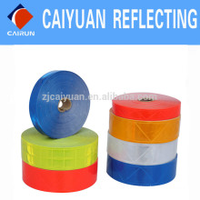CY PVC fita refletiva alta visibilidade personalizada