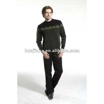 fashion men's sweater 100% cashmere knitwear