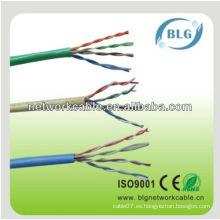 Cable / cable del gato del LAN del cat5e del utp cat5e / cable del LAN de la fábrica cat5e de China