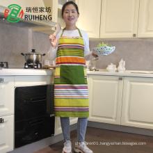 Cheap cotton cooking fancy cotton kitchen apron