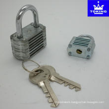 Colourful Laminated Padlock Without Cylinder (1502)