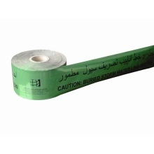 Aluminum foil underground detectable warning tape