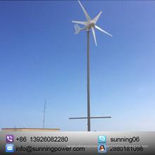 Солнечная 300 Вт 5 лопастей малых ветряных турбин генератор