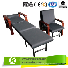 Hospital Luxury Wooden Accompany Chair Bed