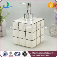Branco Rubik's Cube dispensador de sabonete líquido para casa de banho