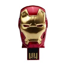 Popolare Cool Ironman Mask USB Flash Drive