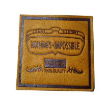 Etiquetas de couro para calças jeans para sacos (HJL27)
