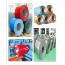 Bobina de acero galvanizado Prepainted del color PPGI