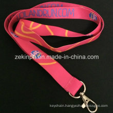 Promotional Heat Transfer Printed Logo Lanyard