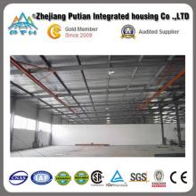 Fabrication préfabriquée sur mesure Structure en acier Entrepôt / Usine / Atelier
