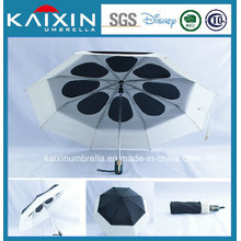 Auto Open and Close Double Layered Umbrella with Customized Design