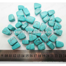 Turquoise tumbled stone,high polish