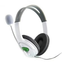 Haute Qualité Nouveau Casque Casque avec Micro Microphone Écouteur pour XBOX 360 Gaming Casque Blanc