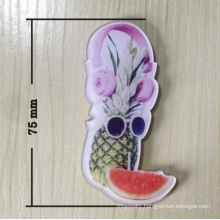 Lovely Fruit Brooch with Pineapple and Watermelon