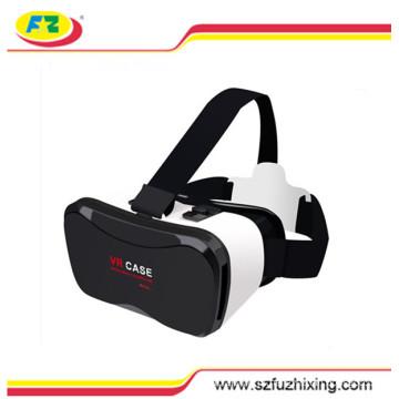 2016 mais novo melhor qualidade radiação prova caixa Vr, vidro 3D, realidade Virtual fone de ouvido, fone de ouvido 3D para filmes 3D, jogos 3D