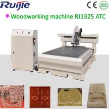 Machine de routeur CNC de gravure sur bois (RJ1224)