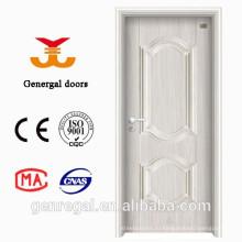 Экономичный белый ячеистое ядро внутренние стальные двери