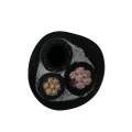 EPDM compounded rubber irradiation crosslinking material sheath Co2 welding cable